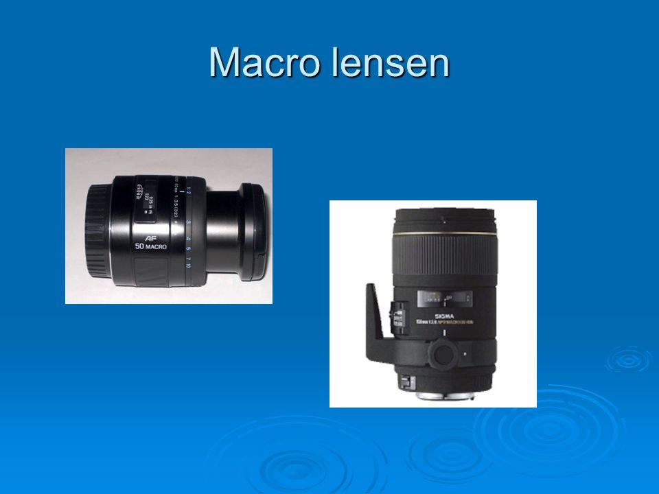 Macro lensen