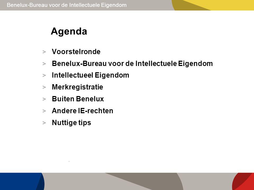 Benelux-Bureau voor de Intellectuele Eigendom Agenda > Voorstelronde > Benelux-Bureau voor de Intellectuele Eigendom > Intellectueel Eigendom > Merkre