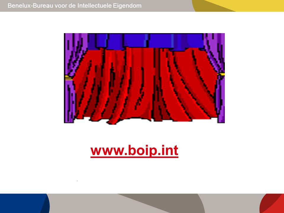 Benelux-Bureau voor de Intellectuele Eigendom www.boip.int