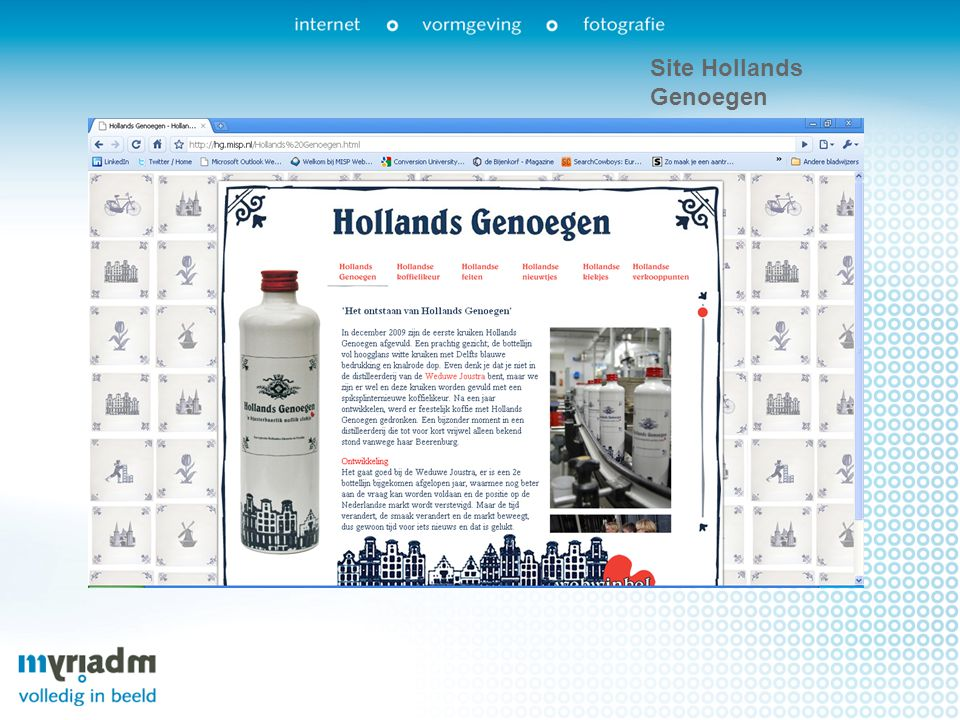 Site Hollands Genoegen