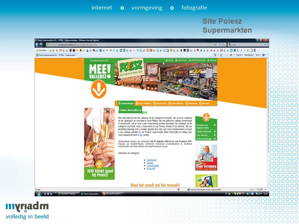 Site Poiesz Supermarkten