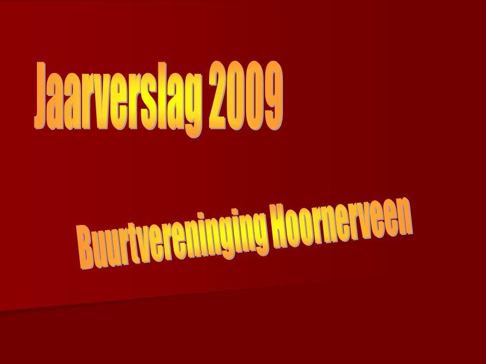 Nieuw dit jaar: de website van buurtvereniging Hoornerveeen www.buurtvereniginghoornerveen.nl PR activiteiten die werden gedaan: Voor en na elke activiteit berichten in de lokale pers Een nieuwsbrief bij alle buurtgenoten in de bus ( ook niet-leden)