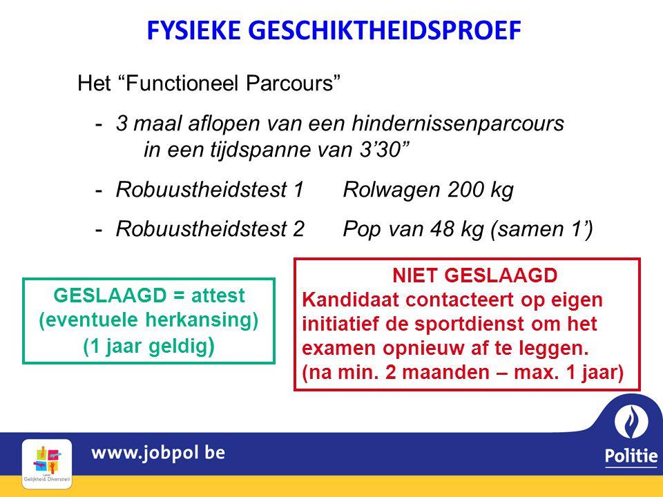 """Het """"Functioneel Parcours"""" - 3 maal aflopen van een hindernissenparcours in een tijdspanne van 3'30"""" - Robuustheidstest 1Rolwagen 200 kg - Robuustheid"""