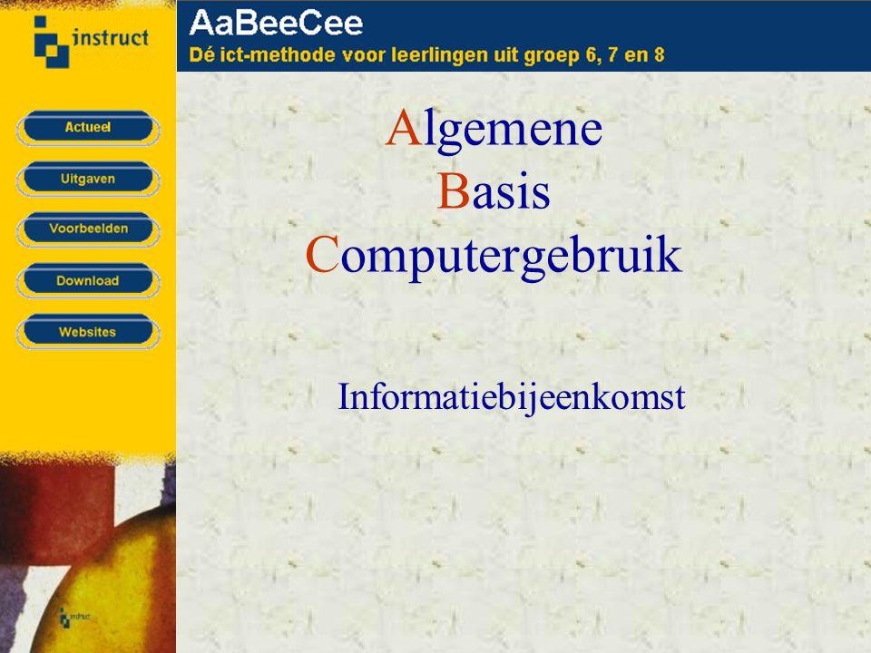 Algemene Basis Computergebruik Informatiebijeenkomst