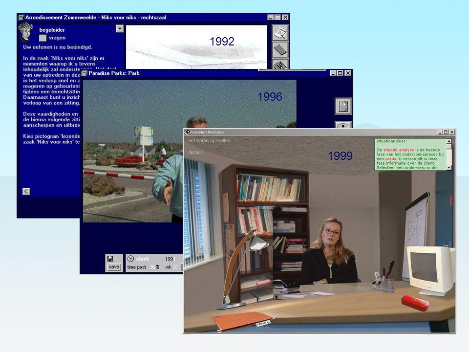 1992 1996 1999