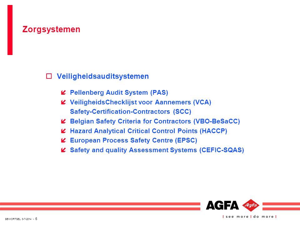 SB\MORTSEL 3-7-2014 - 5 oVeiligheidsauditsystemen íPellenberg Audit System (PAS) íVeiligheidsChecklijst voor Aannemers (VCA) Safety-Certification-Cont