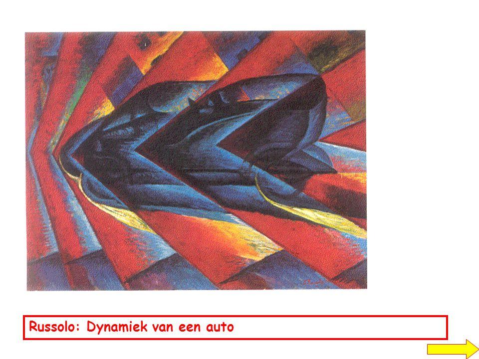 Boccioni: Unieke vorm van continuïteit in de ruimte