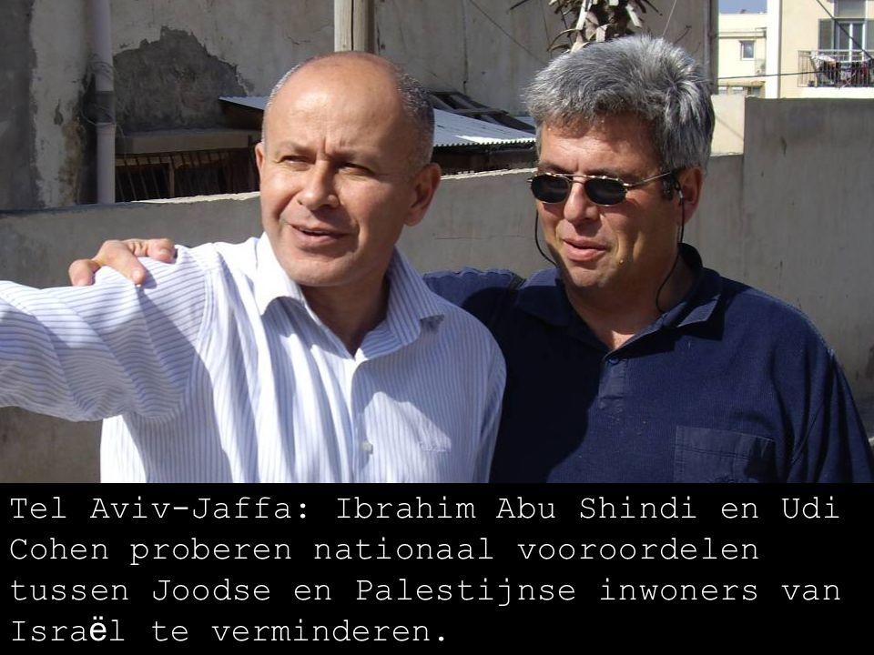 Tel Aviv-Jaffa, Joodse en Palestijnse jongeren van Sadaka Reut: Wij willen deze plek eerlijker delen.
