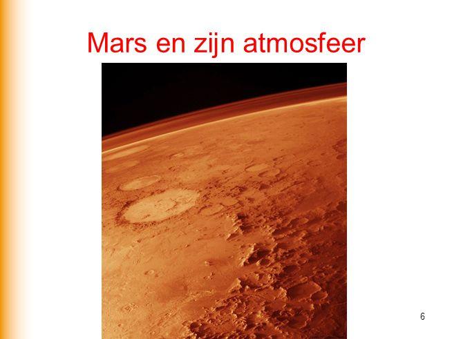 Mars en zijn atmosfeer 6
