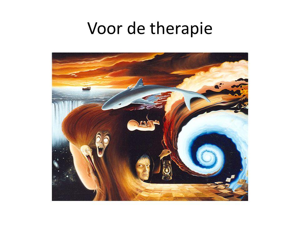 Voor de therapie