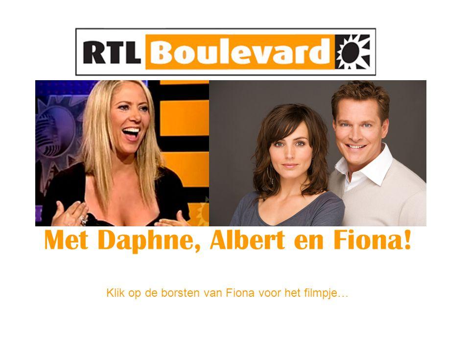 Met Daphne, Albert en Fiona! Klik op de borsten van Fiona voor het filmpje…