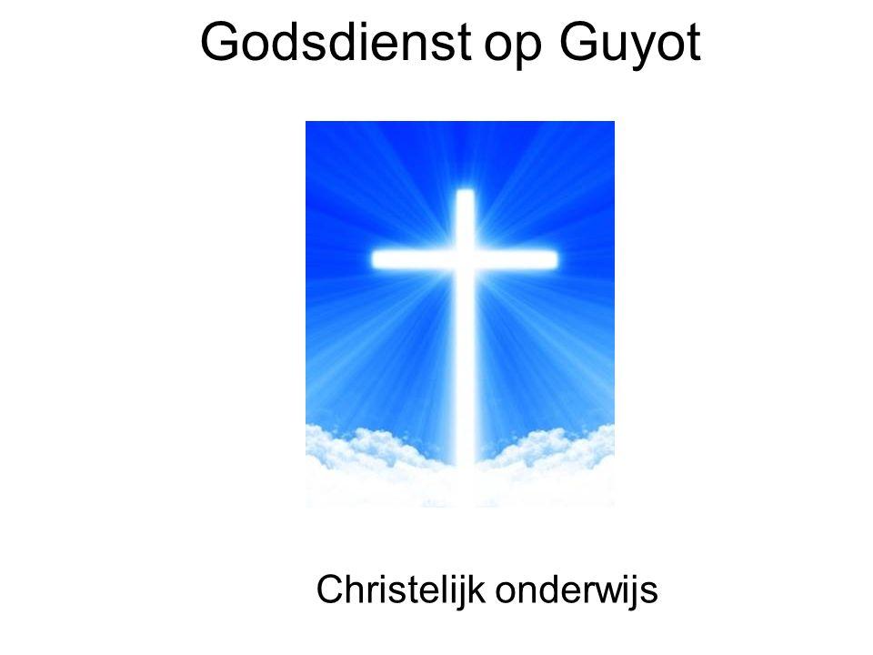 Godsdienst op Guyot Christelijk onderwijs
