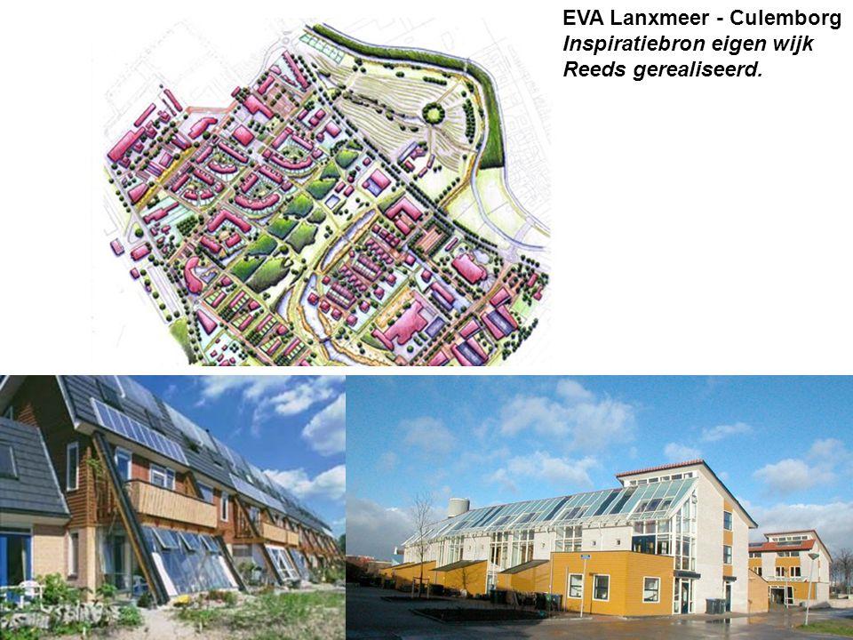 EVA Lanxmeer - Culemborg Inspiratiebron eigen wijk Reeds gerealiseerd.