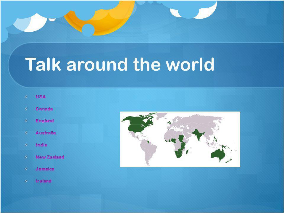 Talk around the world roles chairpersonResearchPresenterMoviemakerMedia