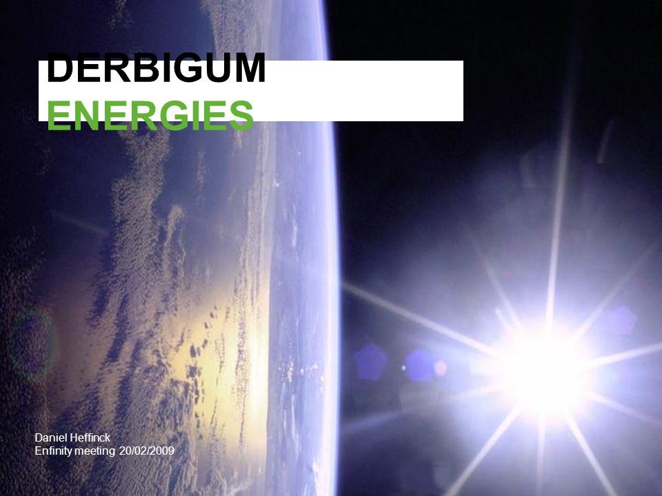 2 Hoofdactiviteit Advies geven over energiebesparende oplossingen en het aanbieden van een totaaloplossing  Sales ondersteuning DERBIBRITE NT, o.m.