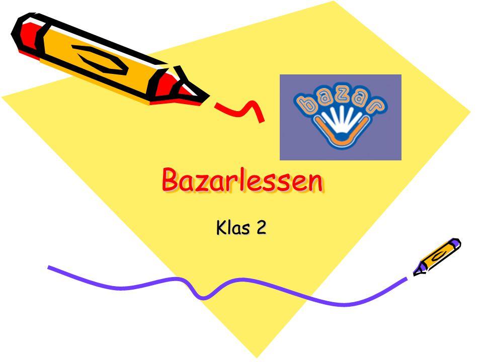 BazarlessenBazarlessen Klas 2