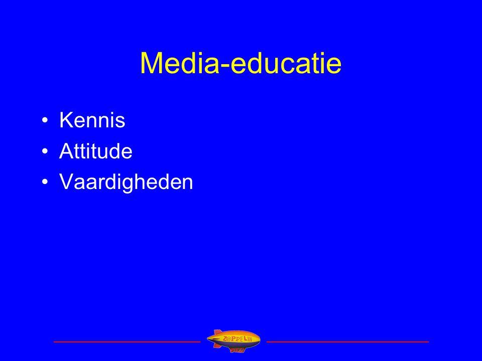 ____________________________ _______________________________ Media-educatie •Kennis •Attitude •Vaardigheden