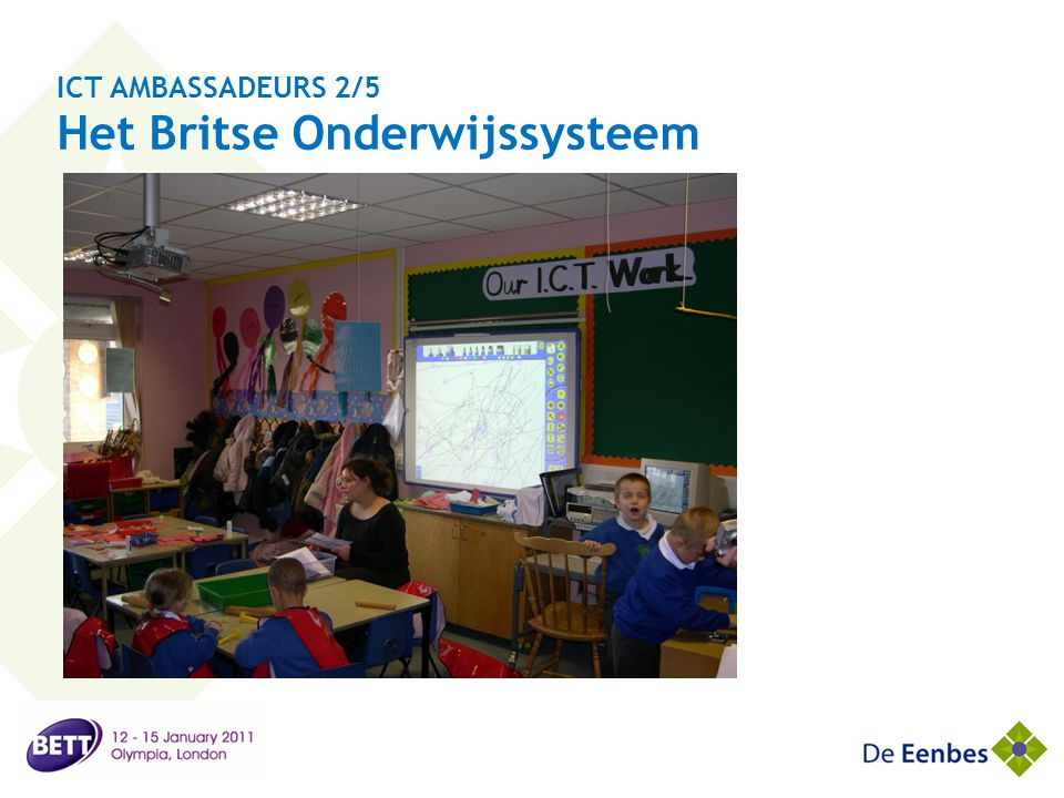 ICT AMBASSADEURS 2/5 Comparing the British and Dutch educating system
