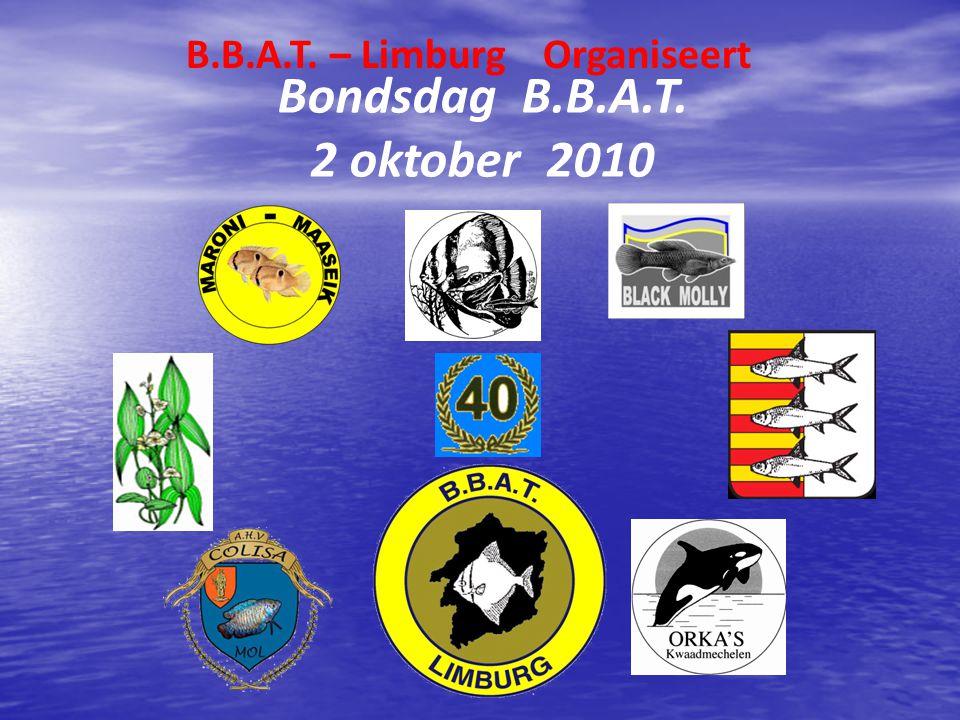 B.B.A.T. – Limburg Organiseert Bondsdag B.B.A.T. 2 oktober 2010