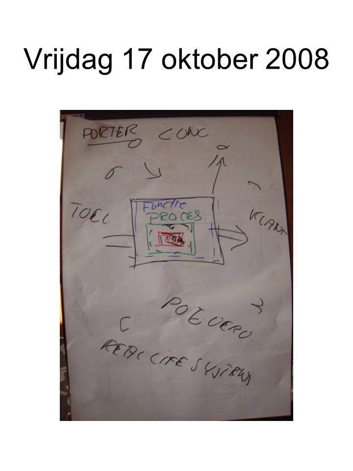 Vrijdag 17 oktober 2008