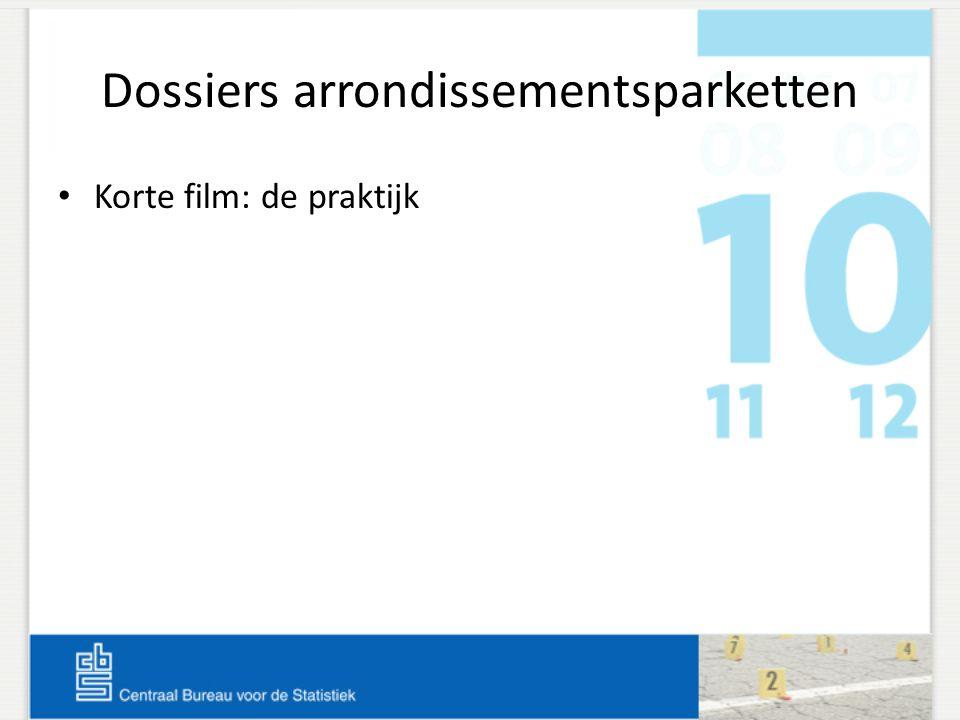 Dossiers arrondissementsparketten • Korte film: de praktijk