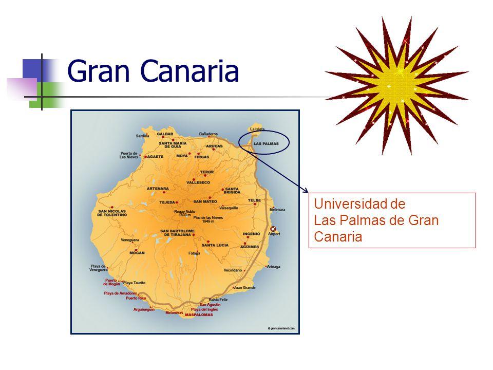 Gran Canaria Universidad de Las Palmas de Gran Canaria
