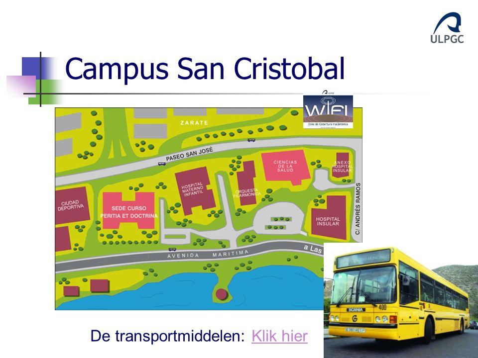 Campus San Cristobal De transportmiddelen: Klik hierKlik hier