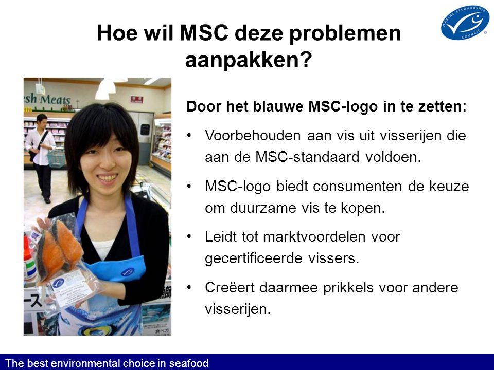 Hoe wil MSC deze problemen aanpakken.