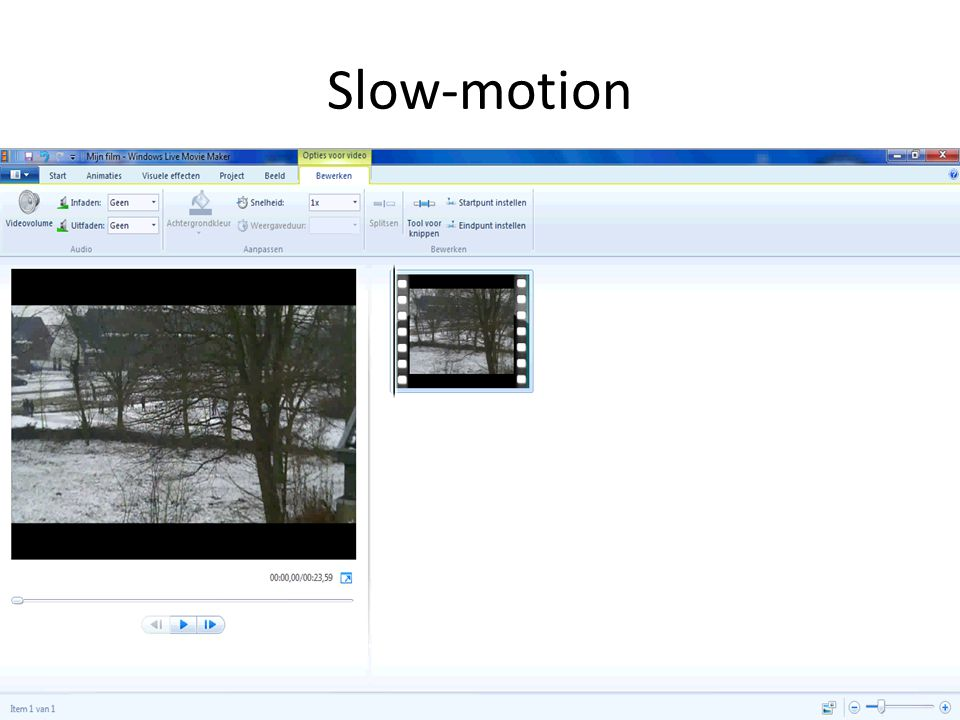 Slow-motion
