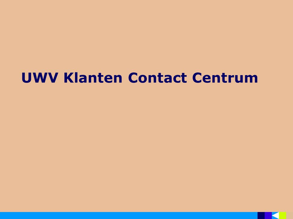 UWV Klanten Contact Centrum