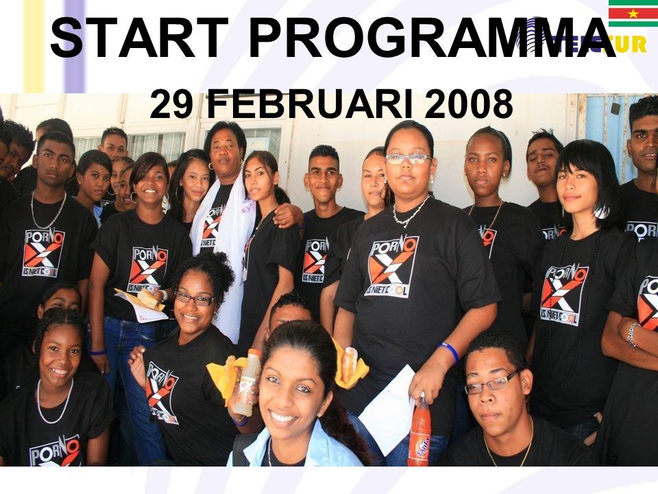 2 START PROGRAMMA 29 FEBRUARI 2008