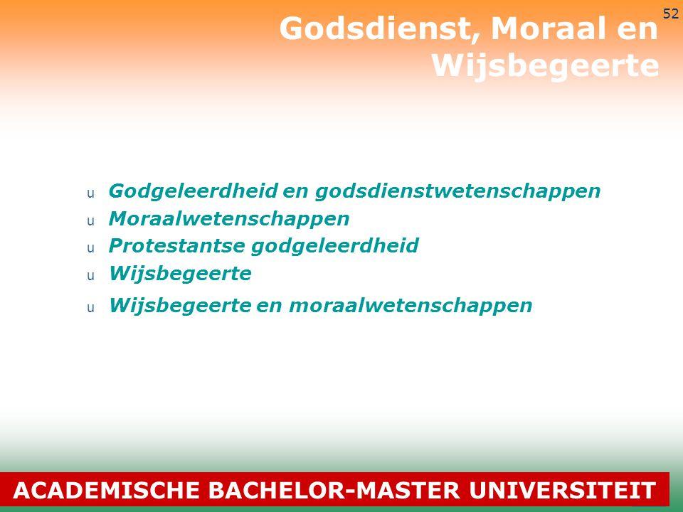 3-7-2014 52 u Godgeleerdheid en godsdienstwetenschappen u Moraalwetenschappen u Protestantse godgeleerdheid u Wijsbegeerte u Wijsbegeerte en moraalwet