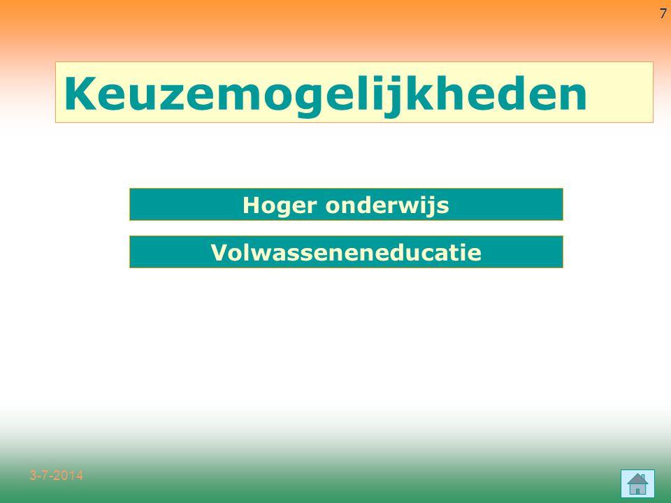 3-7-2014 38 u Bestuurskunde en publiek management u Handelsingenieur (3+2 j) u Handelswetenschappen Handelswetenschappen en bedrijfskunde ACADEMISCHE BACHELOR-MASTER HOGESCHOOL