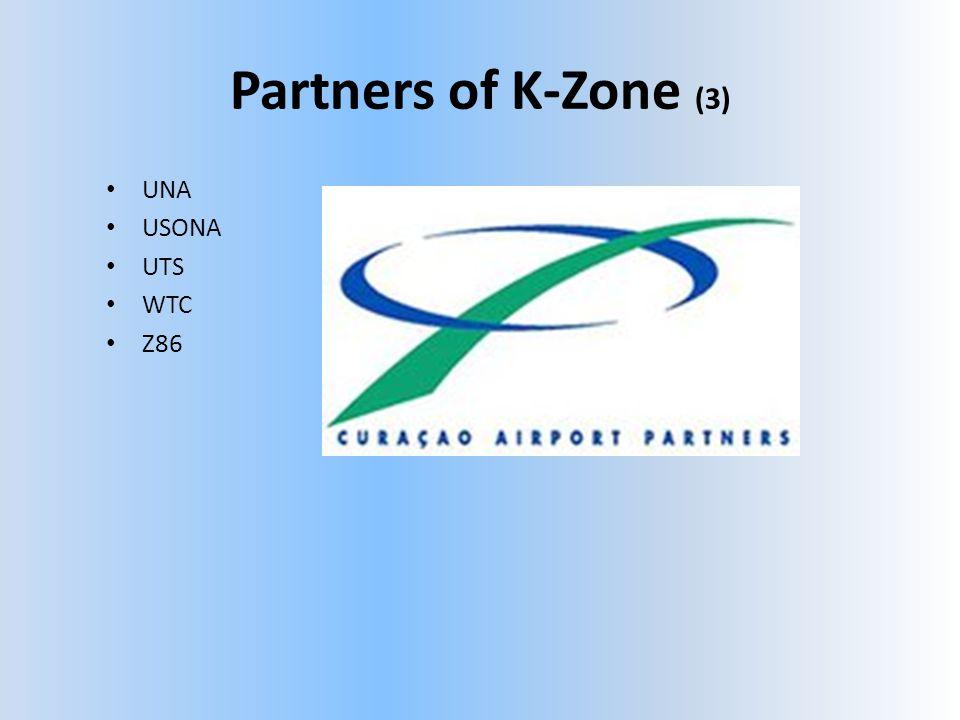 Partners of K-Zone (3) • UNA • USONA • UTS • WTC • Z86