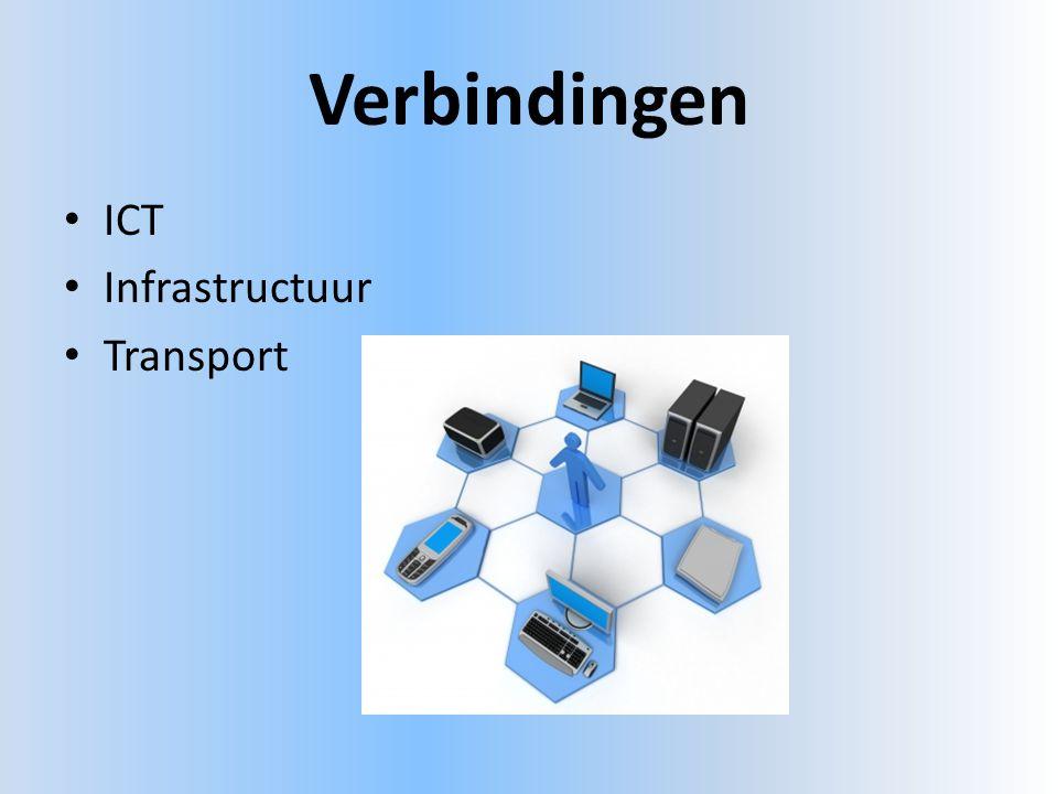 Verbindingen • ICT • Infrastructuur • Transport