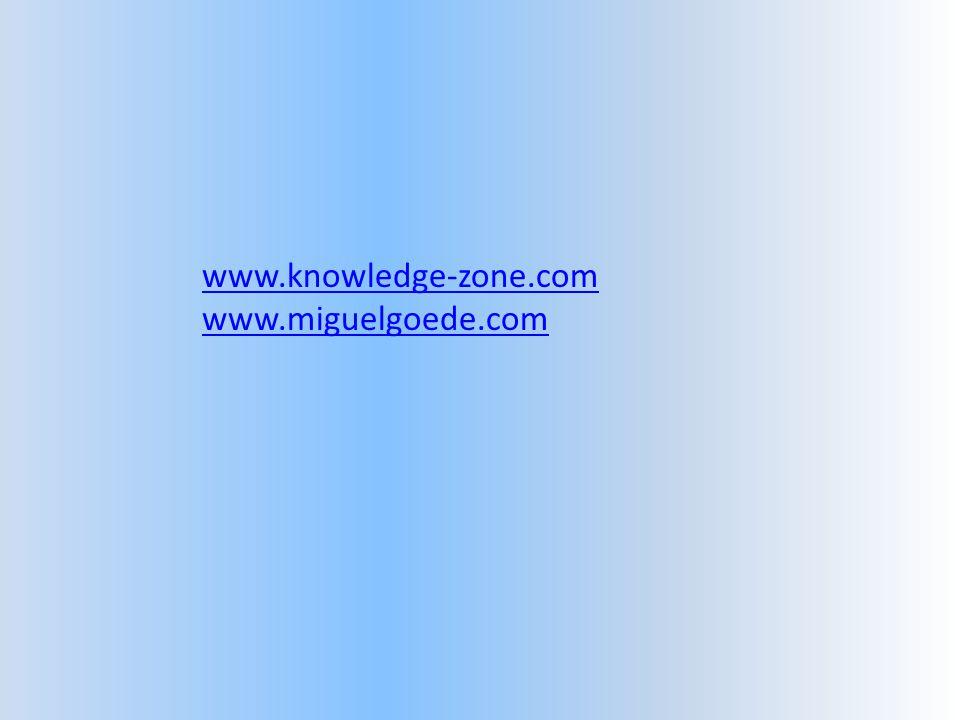 www.knowledge-zone.com www.miguelgoede.com