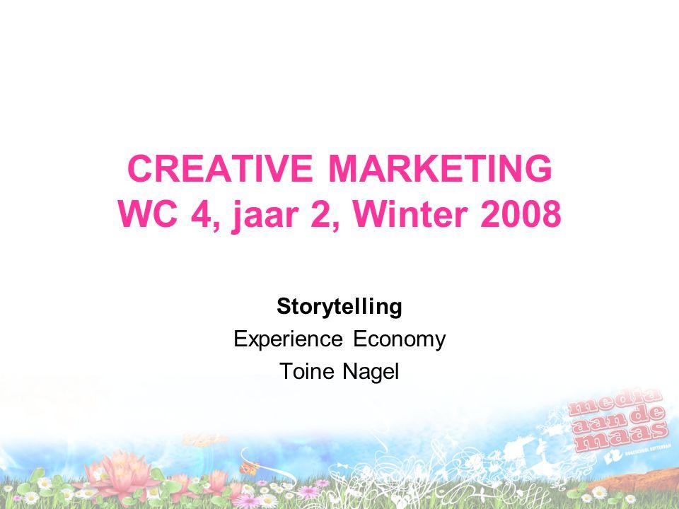 Agenda •Storytelling