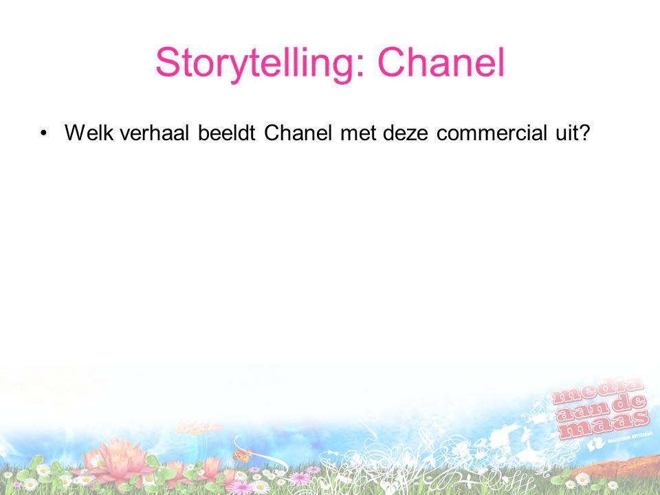 Storytelling: Chanel •Welk verhaal beeldt Chanel met deze commercial uit