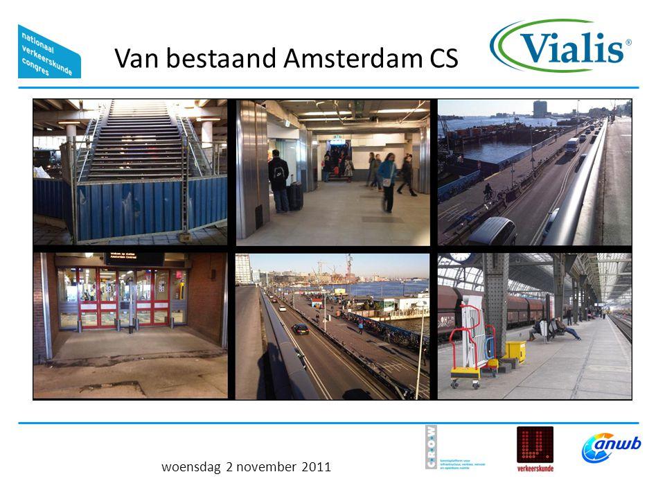 Van bestaand Amsterdam CS woensdag 2 november 2011