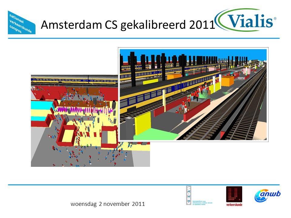 Amsterdam CS gekalibreerd 2011 woensdag 2 november 2011