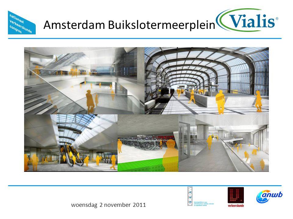 Amsterdam Buikslotermeerplein woensdag 2 november 2011