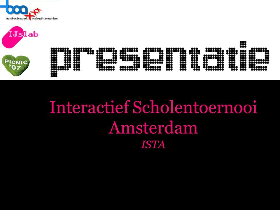 Interactief Scholentoernooi Amsterdam ISTA