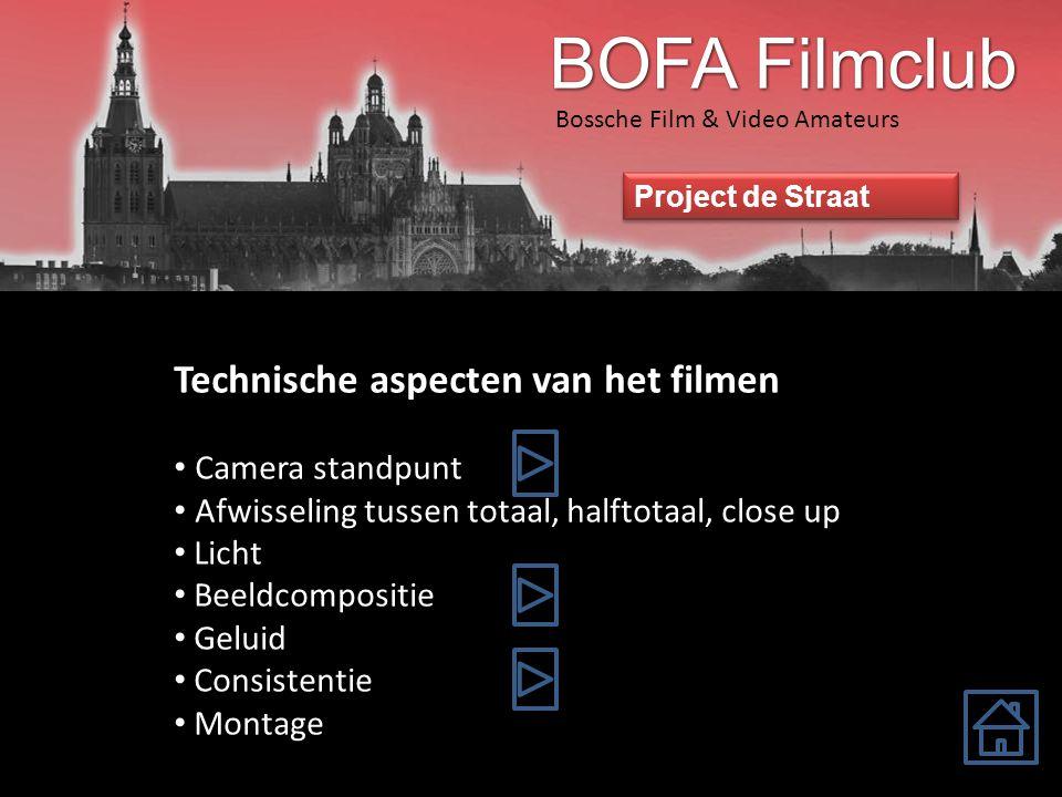 Bossche Film & Video Amateurs Project de Straat De gulden snede