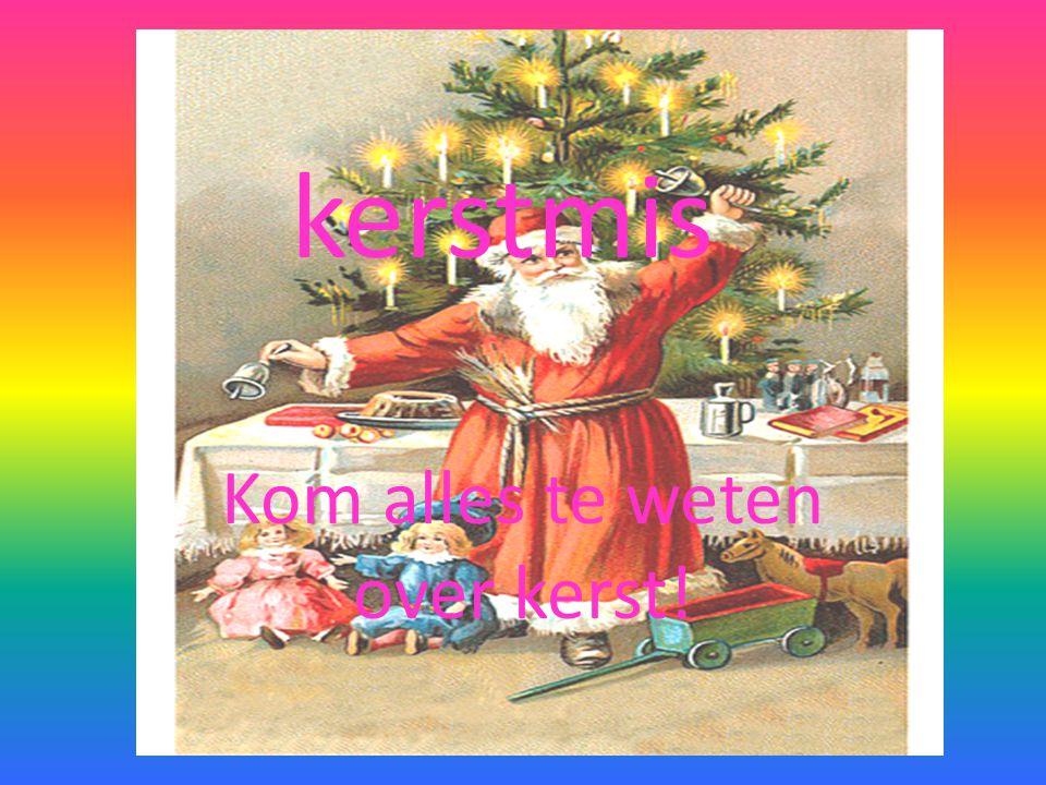 Waarom vieren we kerstmis • We vieren kerstmis om de geboorte van Jezus Christus te hervieren.