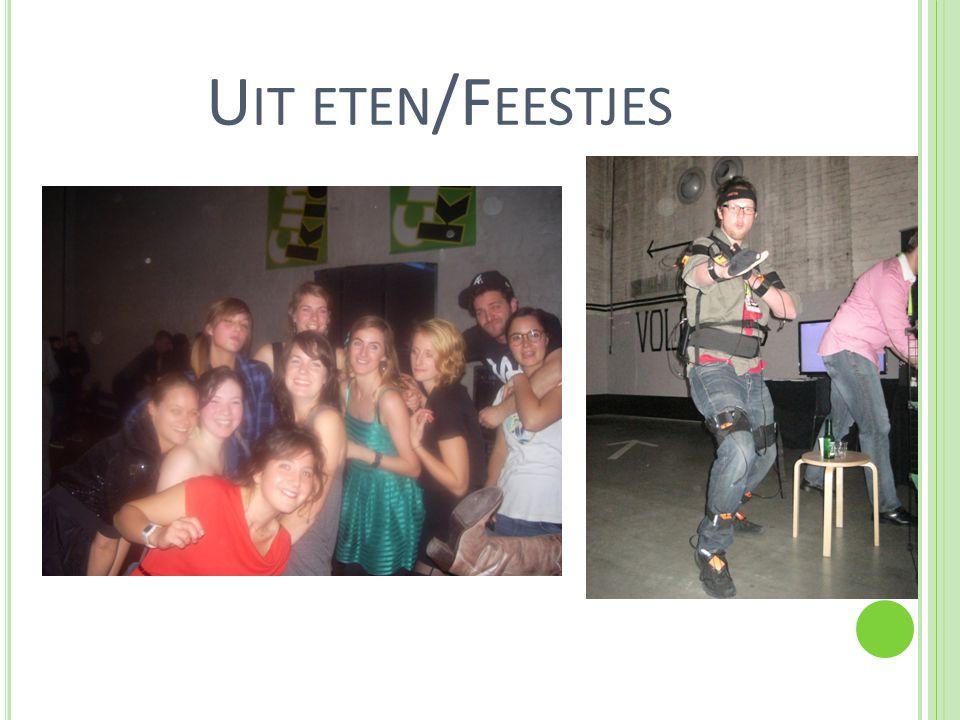 U IT ETEN /F EESTJES