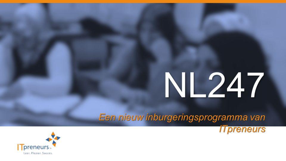 NL247 Een nieuw inburgeringsprogramma van ITpreneurs