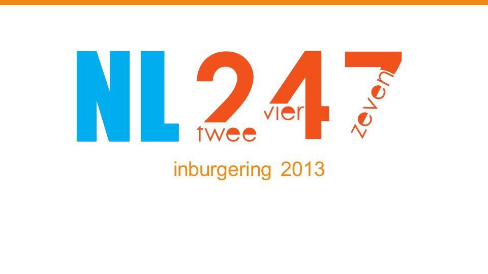inburgering 2013