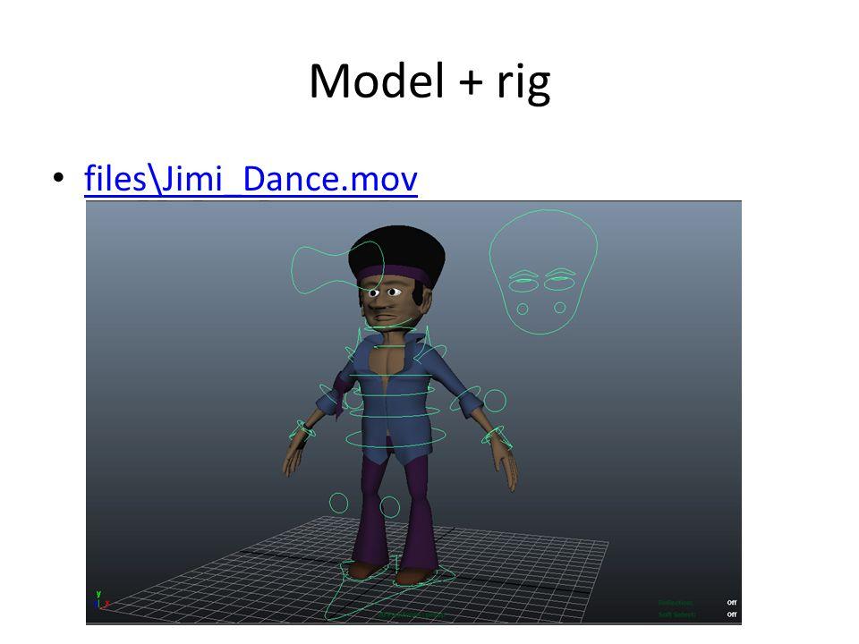 Model + rig • files\Jimi_Dance.mov files\Jimi_Dance.mov