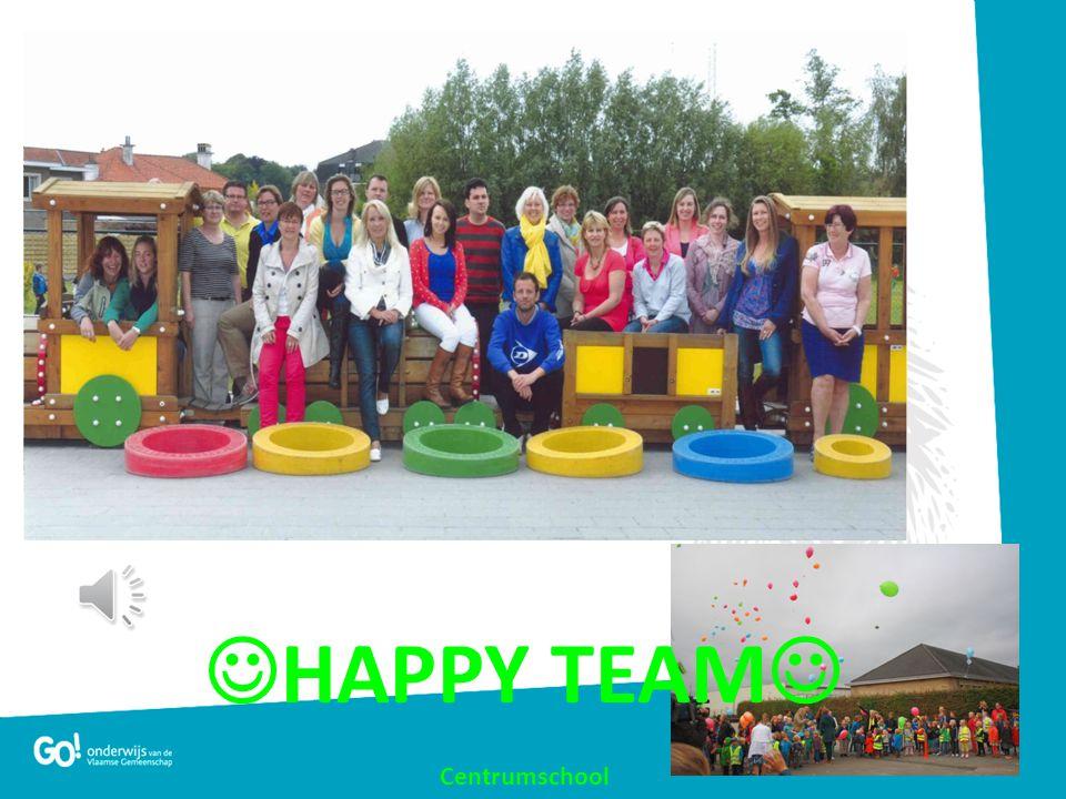  HAPPY TEAM  Centrumschool Welkom, Welcome, Bienvenue Groepsfoto team toevoegen
