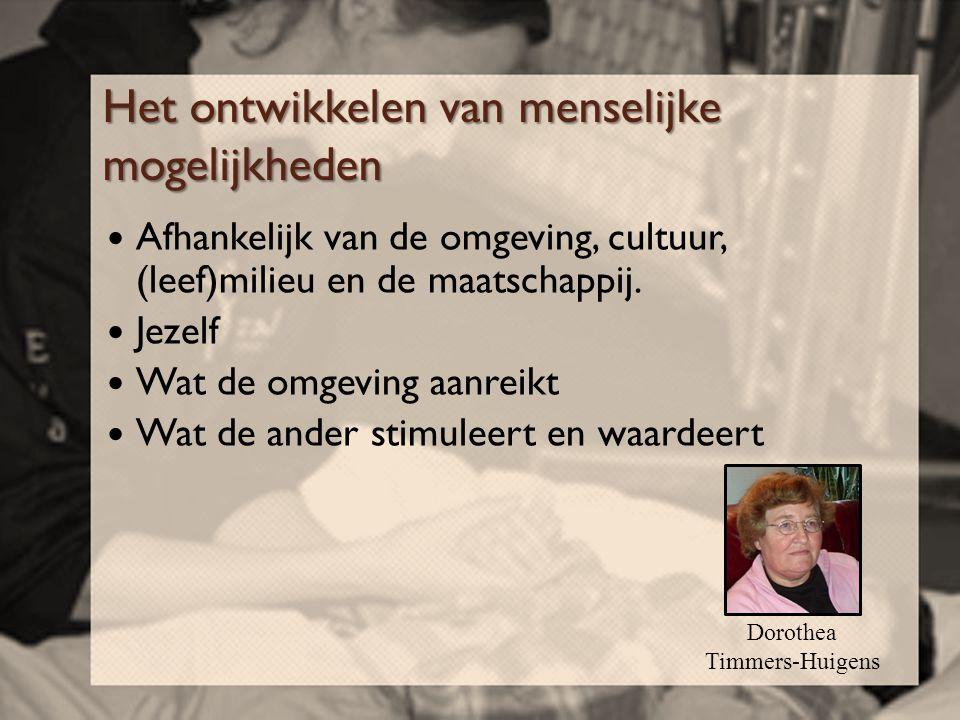Literatuur  Bijzondere zorgvragen van mensen met ernstig meervoudige beperkingen (EMB) Tussenrapportage Klankbordgroep EMB, Juli 2005 (Centrum voor Consultatie en Expertise Utrecht en Noord- Holland, Overijssel, Gelderland en Flevoland)  Dorothea Timmers-Huigens (2005), Ervaringsordening.